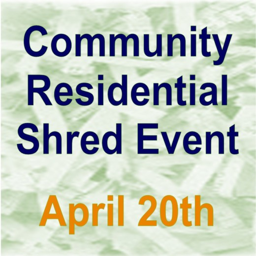 Shred Day - April 20th