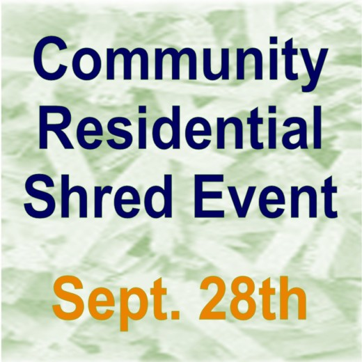Shred Day - September 28th